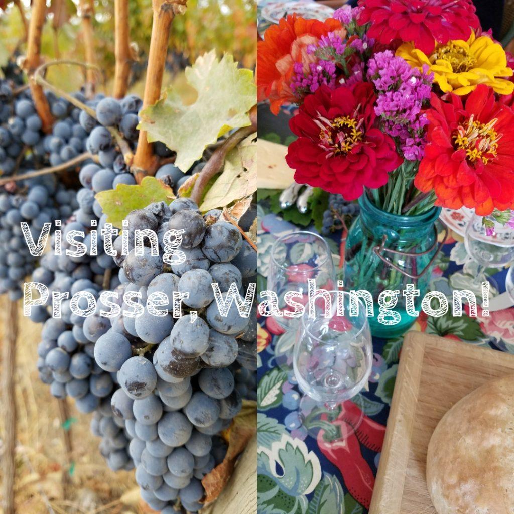 visiting prosser washington travel wine country