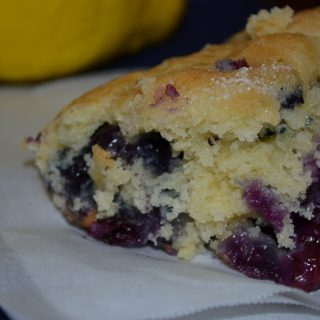 A great day begins with a delicious breakfast! This Berry Lemon Breakfast Cake taste great, easy and convenient to make. Make with berry of choice! #breakfast #cake #bakedgoods #brunch #dessert #berries