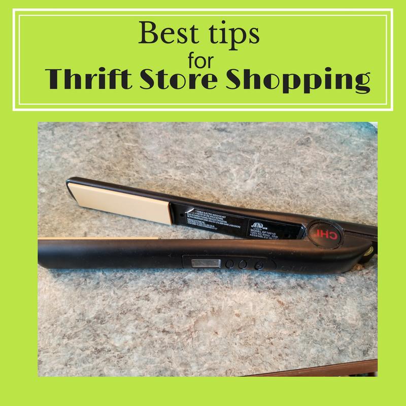 best tips for thrift store shopping