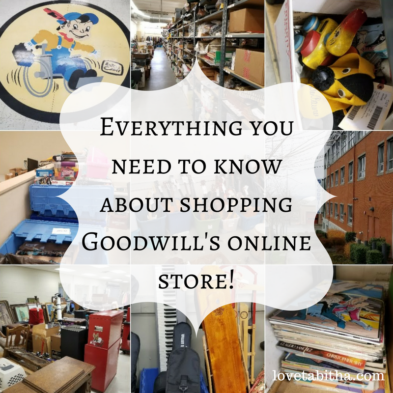 Everything you need to know about shopping Goodwill's online store!