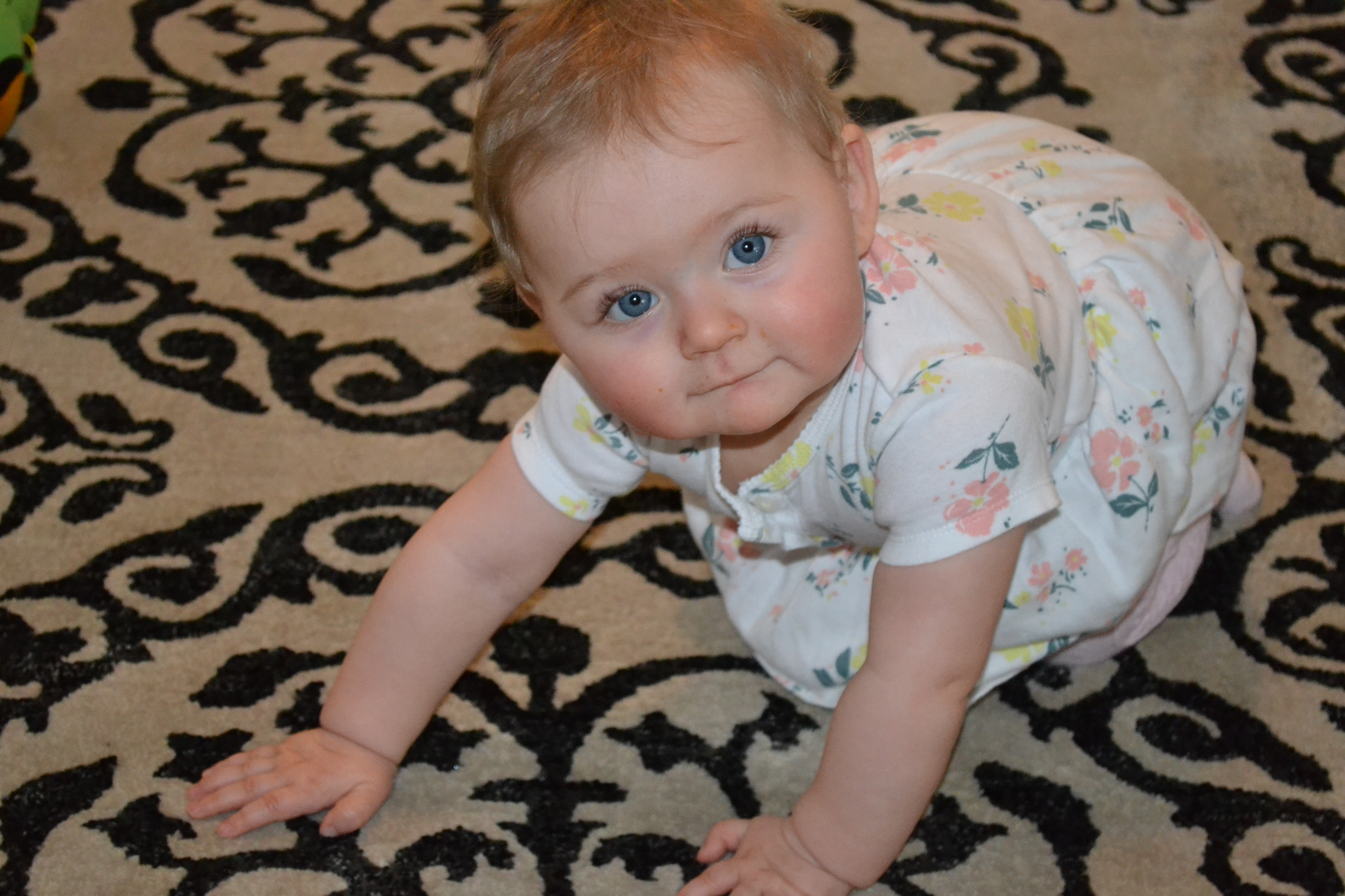 Baby's Eighth Month Update #Piper