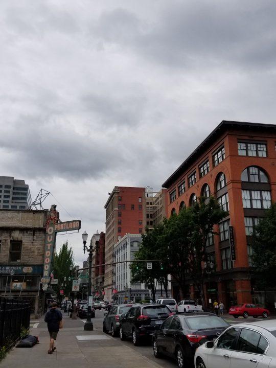 An afternoon in Portland, Oregon