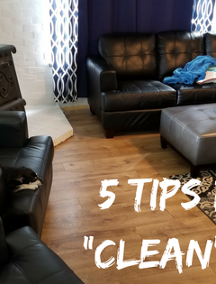 Hey you parent, your house is perfect the way it is! 5 tips for a