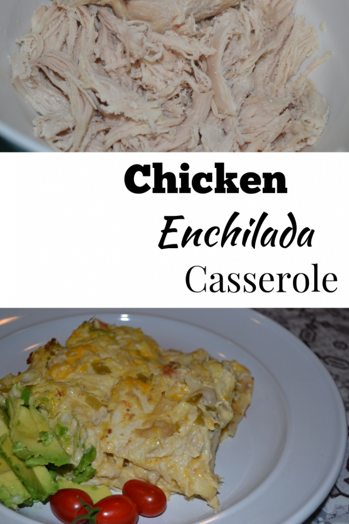 This recipe for Chicken Enchilada Casserole is full of flavor, the whole family will love, not spicy, and easy to make.