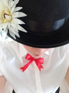 Shop Goodwill this Halloween- Mary Poppins Costume
