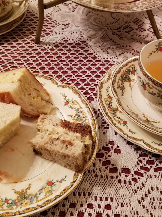 Tea Party at the Olive Branch Cafe in Tacoma