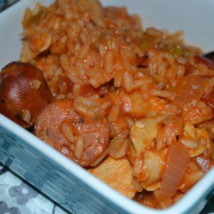 Cajun Jambalaya, one pot dish and gluten free