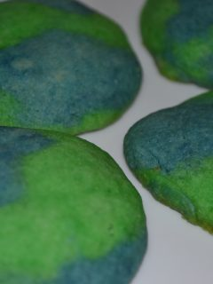 Celebrate Earth Day with making some Earth Cookies!