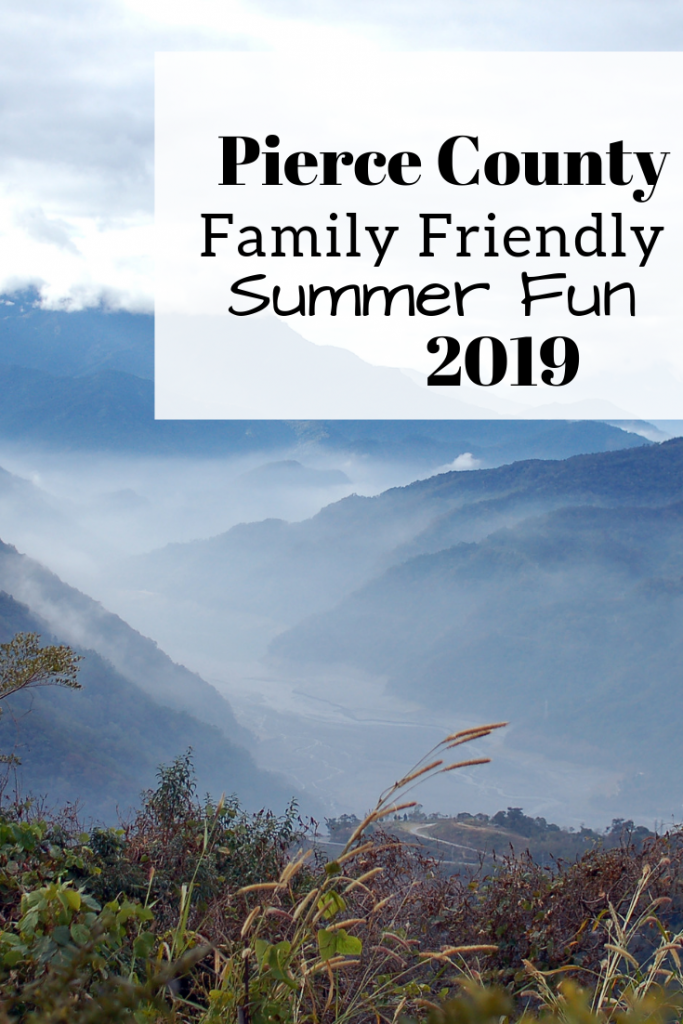 A list of family friendly summer fun in Pierce County. Updated for 2019