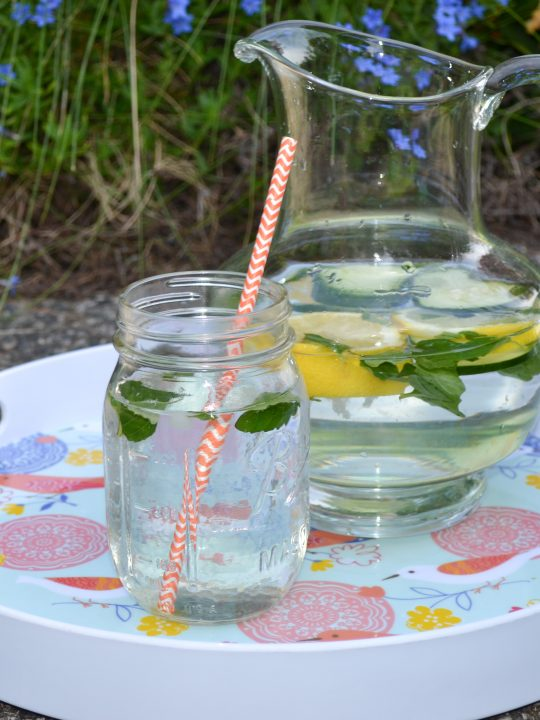 Easy & Healthy Flavored Water