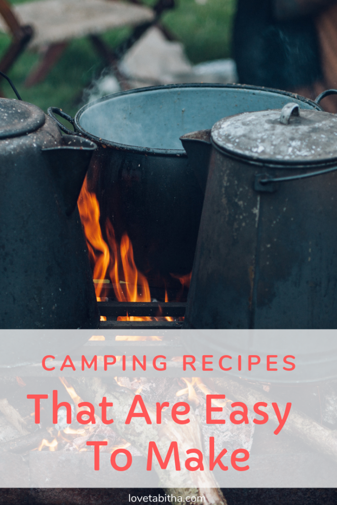 A list of easy to make camping recipes; from desserts to main courses.