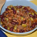 Calico Beans in the Instant Pot is so easy and delicious! A fave in our household!