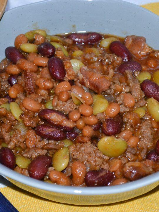 Instant Pot Calico Beans