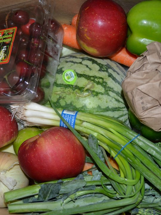 This week only – get $20 credit with first box #ImperfectProduce