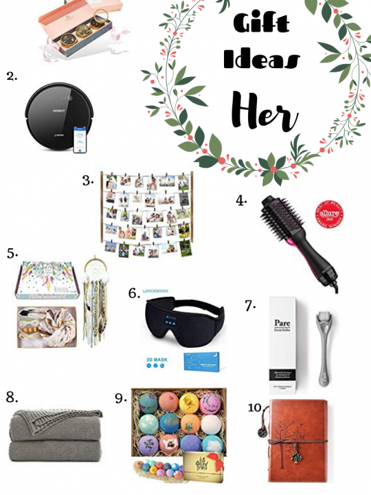 Gift Ideas for Her #HolidayGiftGuide