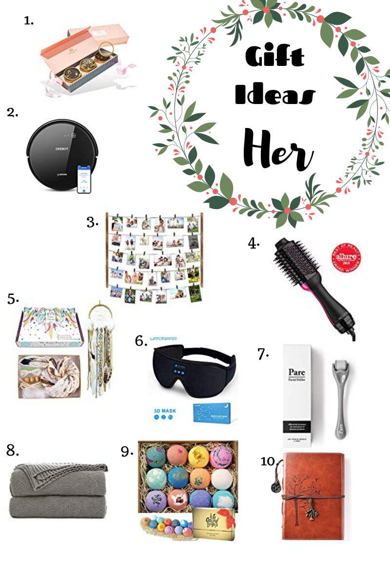 Holiday Gift Guide - Gift Ideas for HER! #holidaygiftguide #giftideas #forher