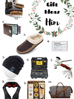 10 Different Gifts Ideas for all the guys in your life.