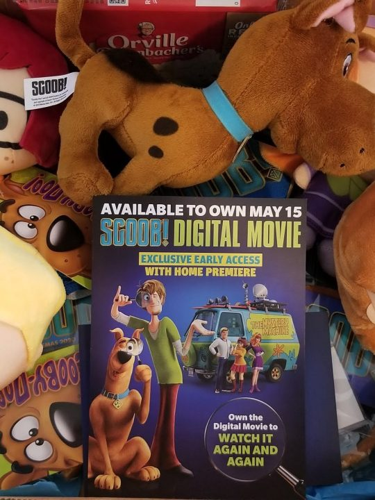 We're ready for the home premier & watch party for SCOOB! Are you?
