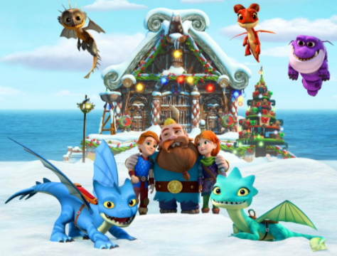 dragons rescue rider holiday