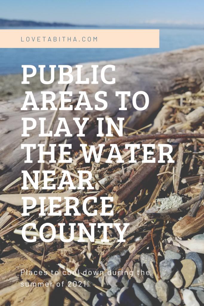 Public Water Areas in Pierce County