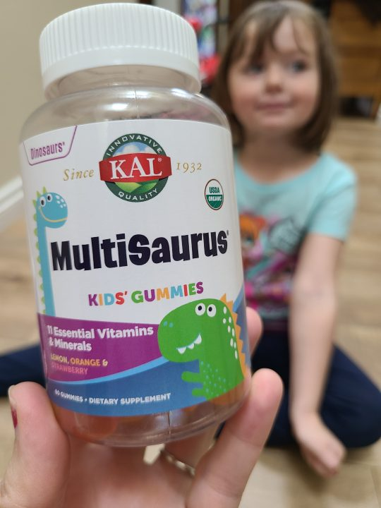 Support your child's wellness with KAL MultiSaurus Gummies